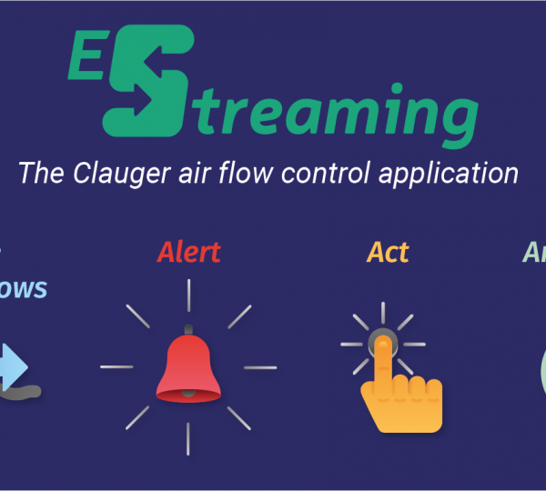 the Clauger air flow control application